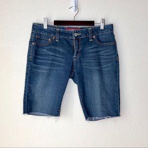 Lucky Brand raw hem shorts. Size 27